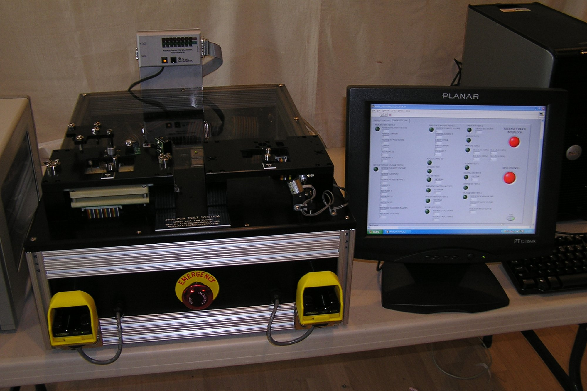 Automated Pcb Test Electromechanica